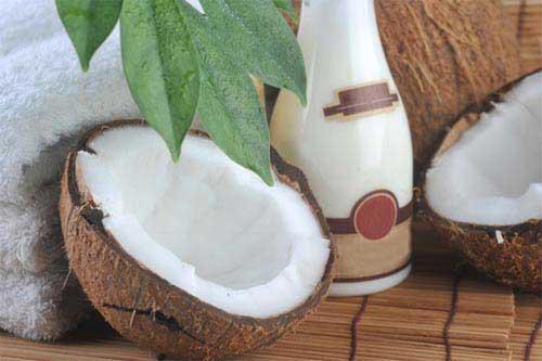 Kokosöl für das Gesicht