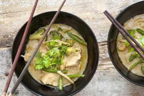 gebackenes huhn kantonesisch