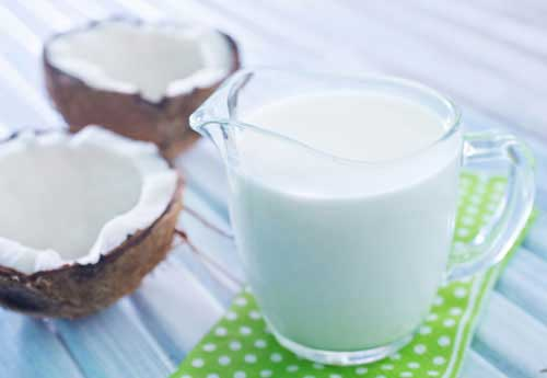 Kokosmilch für die Haare